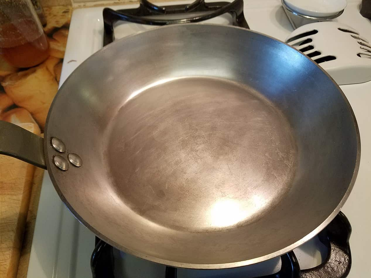 French Carbon Steel Fry Pans